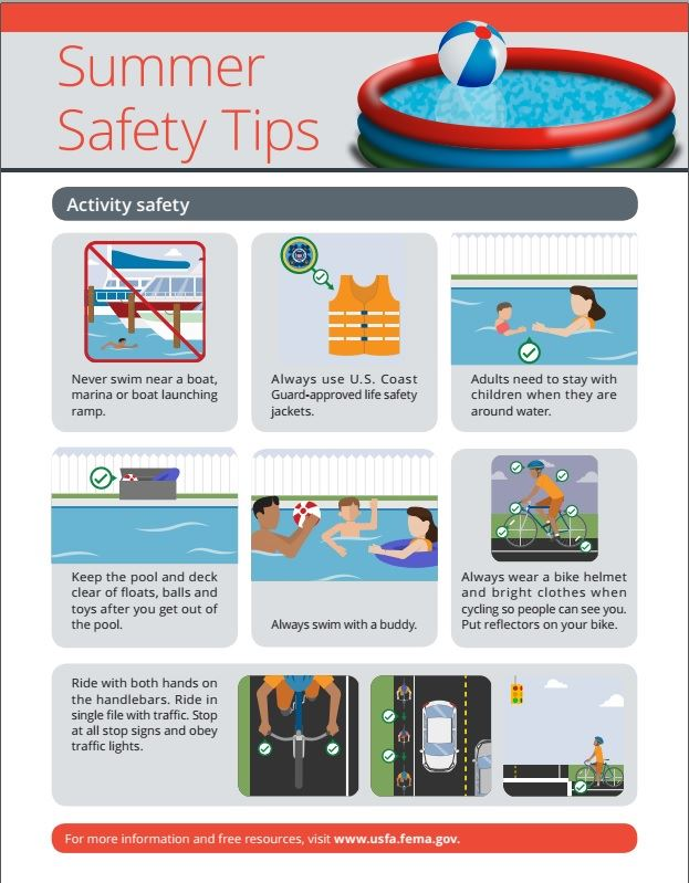 Summer Safety page 2